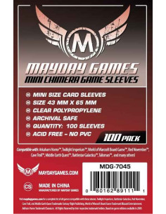 43mm x 65mm: Mini Chimera Game Size (100 stuks)