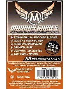 57.5mm x 89mm: USA Chimera Game Size Premium (50 stuks)