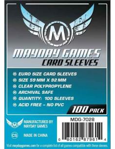 59mm x 92mm: Euro Game Size (100 stuks)