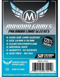 59mm x 92mm: Euro Game Size Premium (50 stuks)