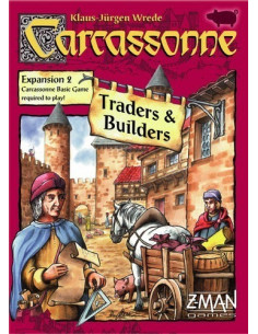 Carcassonne - Expansion 2 - Traders and Builders