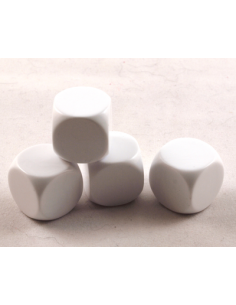 d6 blank 16mm (plastic)