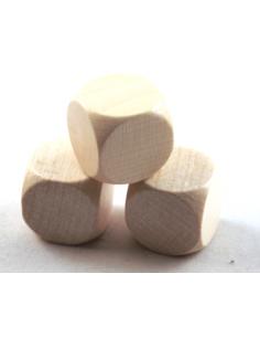 d6 blank 20mm (wood)