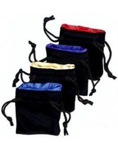 Velvet bag (small) with satin lining
