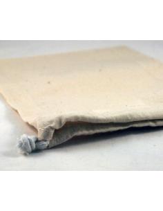 Katoenen zak 20x14cm - naturel