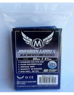 66mm x 91mm: MTG Pro Card Sleeves - Blue (80)