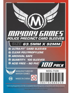 63.5mm x 92mm: Card Game Size (100)
