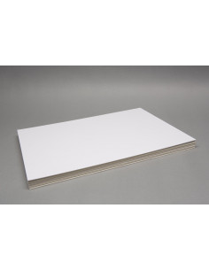 Spelbord blanco: 840x600mm