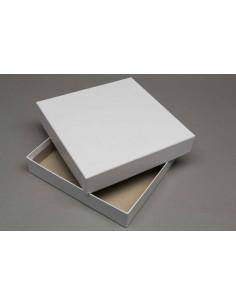 Doos met deksel (18,5x18,5x3,5cm)