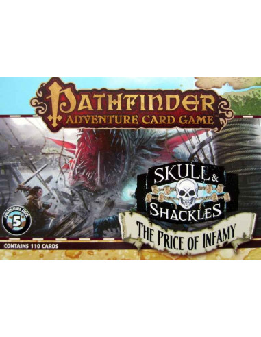 Pathfinder Adventure Card Game Skull & Shackles - The Price of Infamy