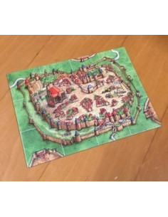 Carcassonne start tableau