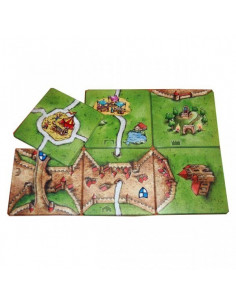 Carcassonne coasters