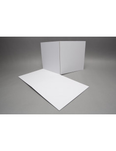 Spelbord blanco: 480x480mm