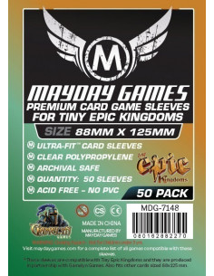 88mm x 125mm: Tiny Epic Kingdom Magnum Oversized Premium Sleeves (50)