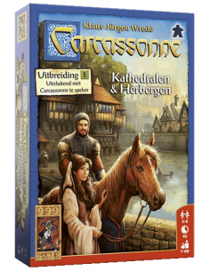 Carcassonne: Kathedralen & Herbergen (Dutch)