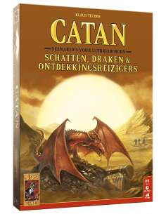 Catan: Schatten, Draken & Ontdekkingsreizigers (Dutch)