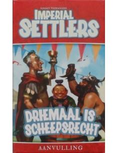 Imperial Settlers: Driemaal is Scheepsrecht
