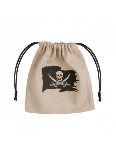 Pirate Dice Bag Beige