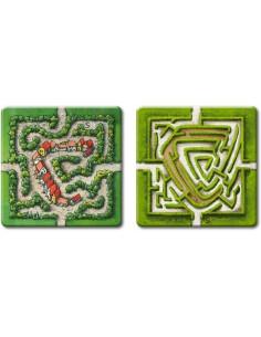 Uitbreiding Carcassonne:  Het Labyrinth
