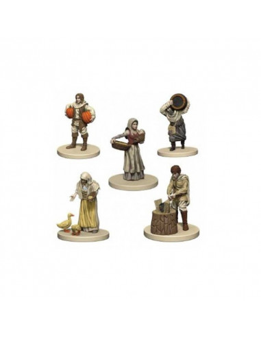 Agricola: Agricola Game Expansion: White (5 Figures)