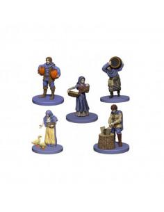Agricola: Agricola Game Expansion: Purple (5 Figures)