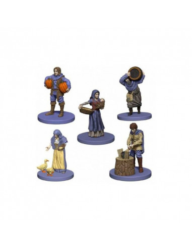 Agricola: Agricola Game Expansion: Purple (5 Figures)