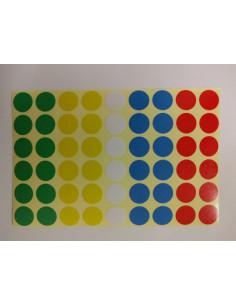 Sticker sheet dots 12mm