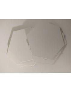 Hexagon 45mm blanco