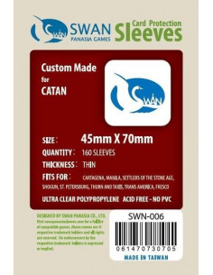 45mm x 70mm: Sleeves (160 stuks)