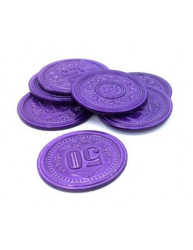 Scythe Promo 9 - 7 Metal $50 Coins