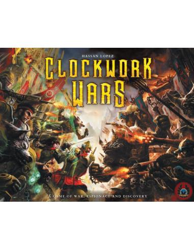 Clockwork Wars (Met Geverfde Generalen)