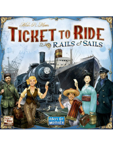 Ticket to Ride Rails & Sails (NL)