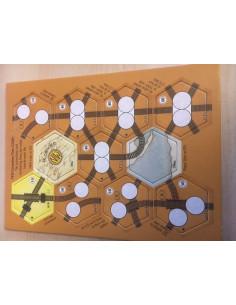 1830: Railways & Robber Barons - Correction Tiles