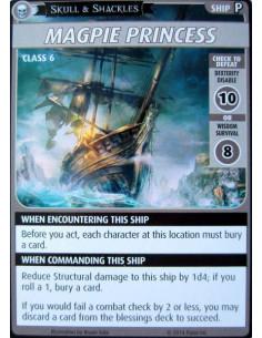 "Pathfinder Adventure Card Game: Skull & Shackles – ""Magpie Princess"" Promo Card"