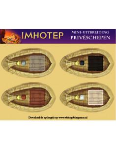 Imhotep: Priveschepen
