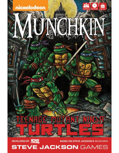 Munchkin Teenage Mutant Ninja Turtles English Deluxe Edition