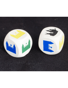 City & Knights dice