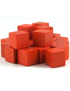 10mm wooden cubes