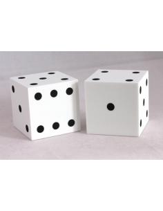 d6 50mm foam 1-6 dots