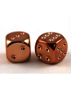 d6 - 16mm metallic-copper...