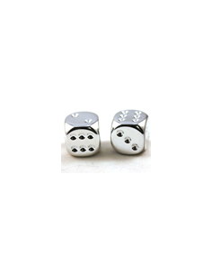 d6 16 mm metallic-silver (2...