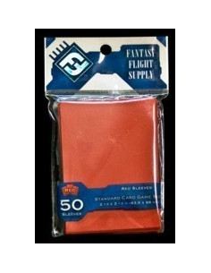 63,5mm x 88mm Red Sleeves