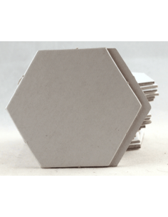 Hexagon 30mm blanco