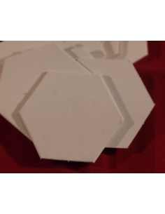 Hexagon 35mm blanco