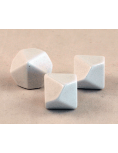 d10 blanco (kunststof)