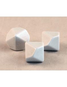 d10 blank (plastic)