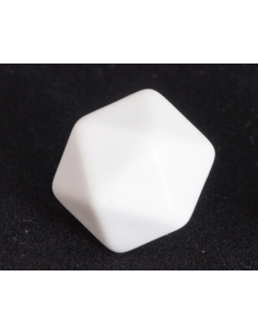 d20 blanco (kunststof)