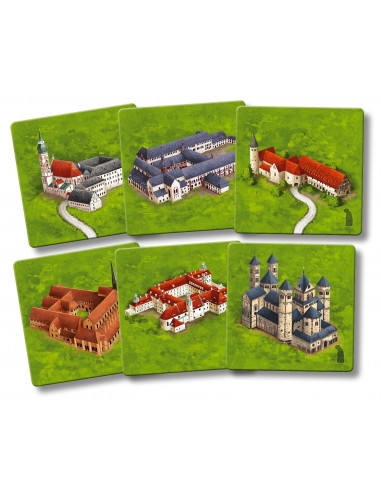 Carcassonne - Monasteries of Germany (new edition)