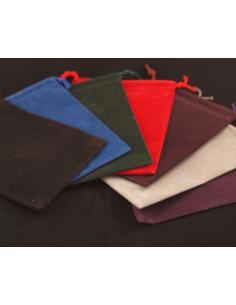 Velour bag (12x17cm)