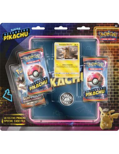 Pokémon TCG Detective Pikachu binder en 3 boosters